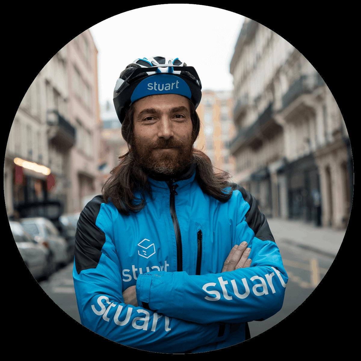 stuart coursiers vélo partenariats