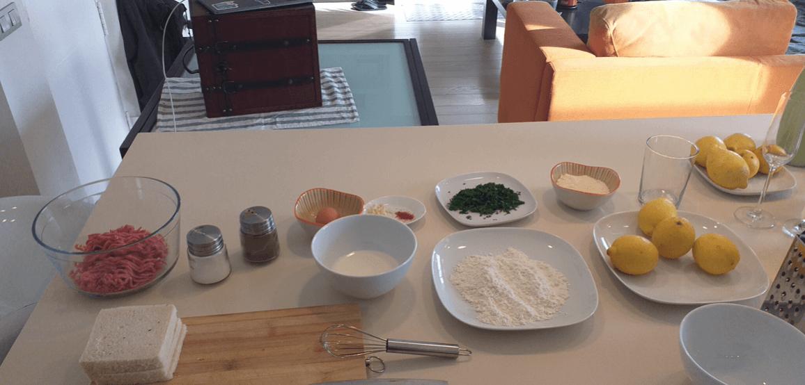 food preparation process ingredients